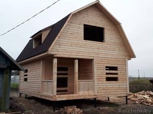 Дом-Баня из бруса готовые срубы с установкой-10 дней недорого Жодино - Изображение #2, Объявление #1616349