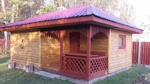 Дом-Баня из бруса готовые срубы с установкой-10 дней недорого Жодино - Изображение #3, Объявление #1616349